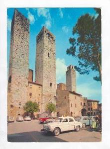 Piazza Dell' Erbe, Dell' Erbe Square, Citta' Di S. Gimignano, Siena, Italy, 1...