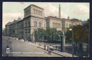 New University Buildings Edinburgh Scotland unused c1910's