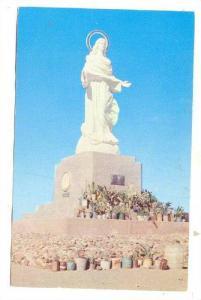 Statue of the Virgin mary on Mount Arrarat , N.I. , 40-60s