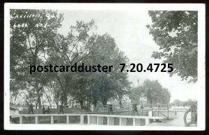 4725 - CARILLON Quebec 1946 Canal Locks. Real Photo Postcard
