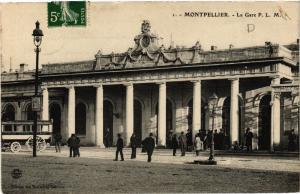 CPA  Montpellier - La Gare P. L. M.  (511335)