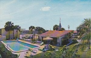 Howard Johnson's Motor Lodge South Swimming Pool Tampa Florida