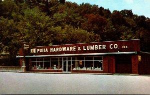 Maine Rumford Puiia Hardware & Lumber Company