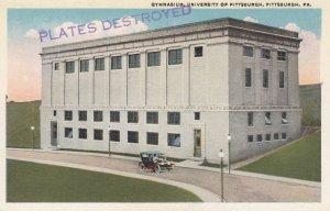 PITTSBURGH , pennsylvania , 1910s ; Gynasium , University of Pittsburgh
