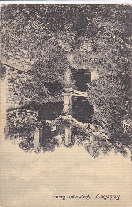Gesprengter Turm, HEIDELBERG (Baden-Württemberg), Germany, 1900-1910s