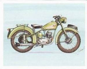 Newmarket Hardware Vintage Trade Card Britains Finest Bikes 1993 No 5 B S A D...