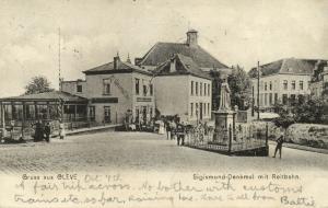 germany, CLEVE KLEVE, Jewish School & Synagogue, Sigismund Monument 1904 JUDAICA