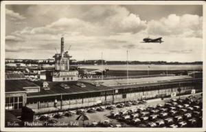 Berlin Germany Airport Flughafen Real Photo Postcard