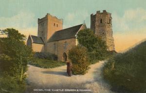 DOVER, Kent, England, 00-10's; Castle Church & Pharos
