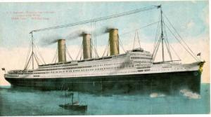 Oceanliner/Steamer/Ship, S. S. Imperator, Hamburg American Line, Largest In T...