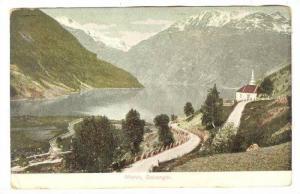 Bird's Eye View, Merok, Geiranger, Norway, PU-1910
