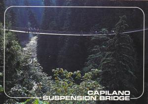 Canada Capilano Suspension Bridge Vancouver British Columbia