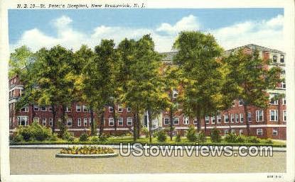 St Peter's Hospital New Brunswick NJ Unused / HipPostcard