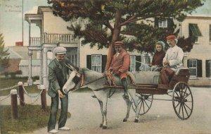 Mark Twain In Bermuda Vintage Postcard