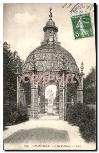 Old Postcard Chantilly The Island of Love