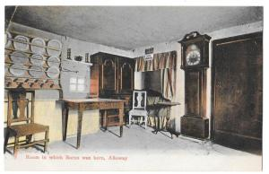 Scotland Ayr Alloway Robert Burns Birth Room GWW Postcard