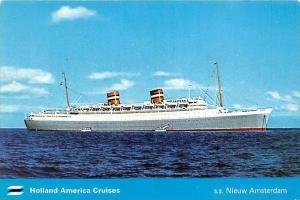 6037 S.S. Nieuw Amsterdam, Holland America Cruises, at sea