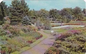 Nebraska Lincoln Sunken Gardens