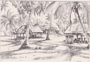 Falealupo , Samoa , 1980