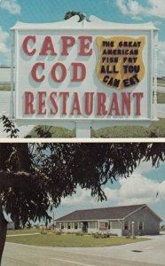CAPE CORAL, Florida, 50-60s ; Cape Cod Restaurant