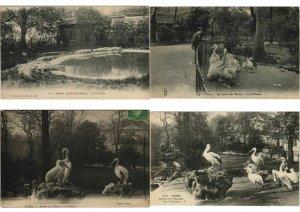 ZOO JARDIN DE PLANTES ANIMAUX 200 CPA pre-1930 (L4066)