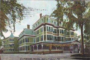 Maine Waterville Elmwood Hotel 1909