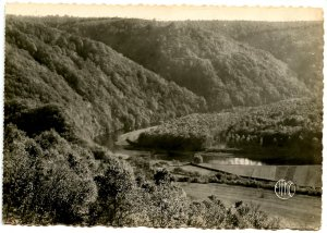 France - Ardennes Mountains, Semoy Valley    *RPPC