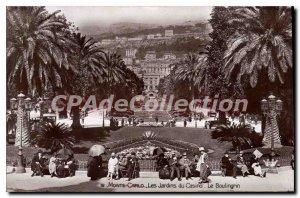 Old Postcard Monte Carlo Casino Gardens The Bolingrin