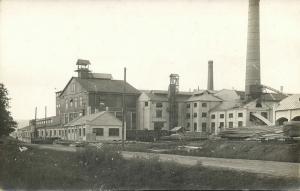 estonia, JÄRVAKANDI, Tehased, Glass Factory (1910s) RPPC