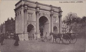 Horse Wagon, The Marble Arch, LONDON, England, UK, 1900-1910s
