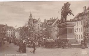 Denmark Copenhagen Hojbroplads Market Scene Photo