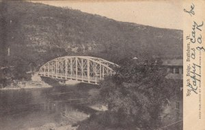 BRATTLEBORO, Vermont, 1907; New Arch Bridge