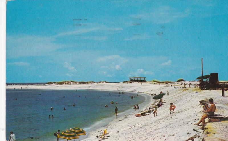 Protected Bathing Beach at St. Andrew's State Park, PANAMA CITY, Florida, PU-...