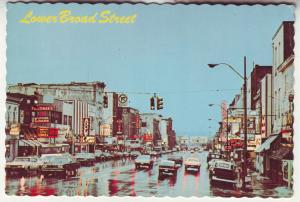 P785 vintage lower broad street view cars store signs etc nashville tennesee