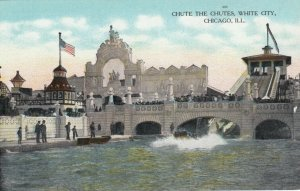 CHICAGO, Illinois, 00-10s ; White City , Chute the Chutes