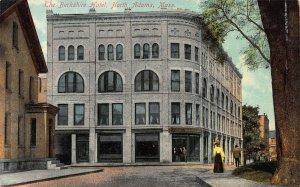 The Berkshire Hotel, North Adams, Massachusetts, Early Postcard, Unused