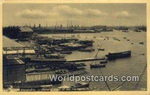 Harbour Alexandria Eqypt Unused