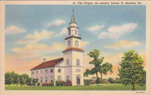 Chapel, Infantry School, FT. BENNING, Georgia, 30-40's