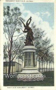 Monument Montcalm Quebec Canada Unused