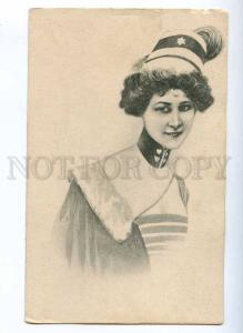 189943 Light Cavalry Woman HEAD Female Vintage A.S.W. PC