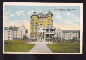 TOPEKA KANSAS STATE HOSPITAL FOR THE INSANE VINTAGE POSTCARD SEDALIA MISSOURI