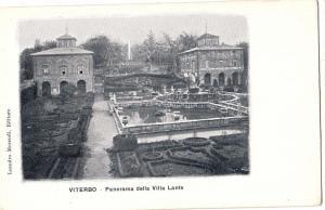 Viterbo - Panorama della Villa Lante