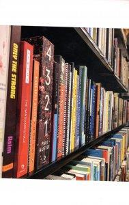 Queen Books Toronto Canada Canadian Bookstore Book Shop Postcard