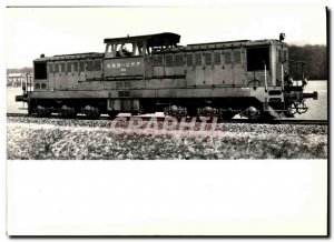 Postcard Modern Train Locomotive Diesel Bm 1501 and 6/6 ss