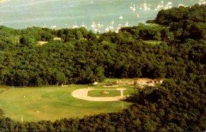 Massachusetts Cape Cod Cotuit Lowell Park Baseball Field