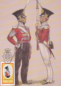 Military Uniform Sergeant Major and Private Full Dress Uniform Winter and Sum...