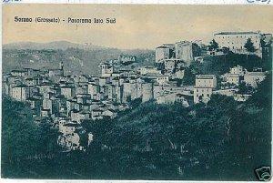 00959  CARTOLINA d'Epoca: SORANO - GROSSETO