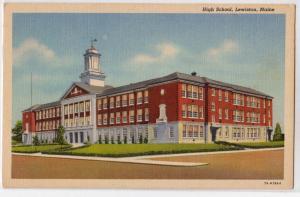 High School, Lewiston ME