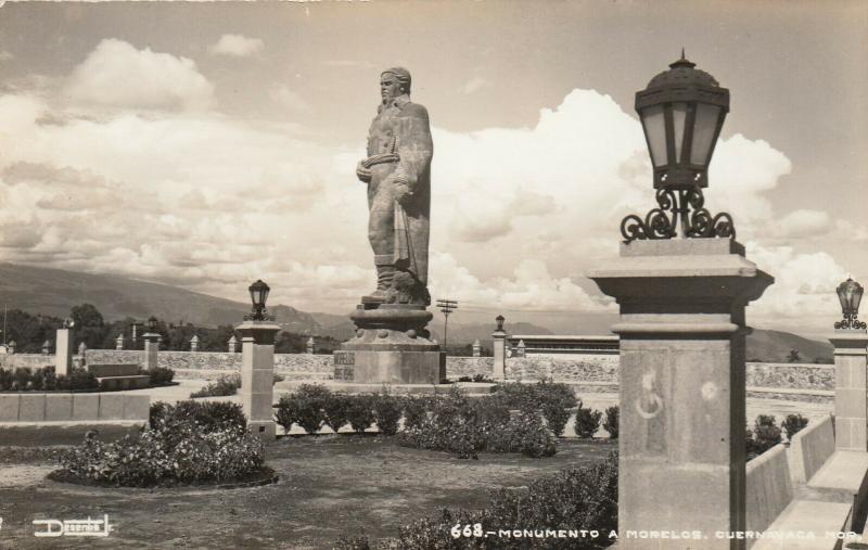 RP; CUERNAVACA, Morelos, Mexico, 30-50s; Monumento A Morelos