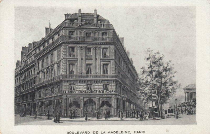 PARIS , France, 00-10s; Brooklyn Daily Eagle Newspaper Building , Rue Cambon
